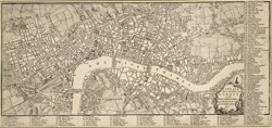 A plan of the cities of London and Westminster and borough of Southwark. 1771